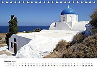 Griechenland - Von Epirus bis zu den Inseln (Tischkalender 2019 DIN A5 quer) - Produktdetailbild 1