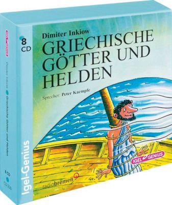 Griechische Götter und Helden, 8 CDs, Dimiter Inkiow