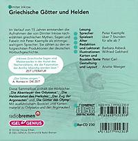 Griechische Götter und Helden, 8 CDs - Produktdetailbild 1