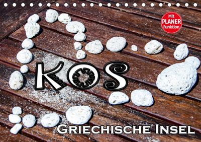 Griechische Insel Kos (Tischkalender 2019 DIN A5 quer), Nina Schwarze