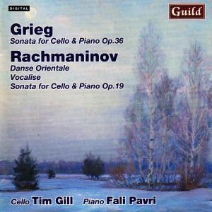 Grieg Cellosonate/Rachmanin, Fali Pavri - Piano Timothy Gill - Cello