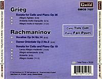 Grieg Cellosonate/Rachmanin - Produktdetailbild 1