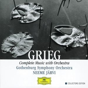 Grieg: Complete Music with Orchestra, Neeme Järvi, Gso