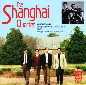 Grieg/Mendelssohn:Streichquartette, Shanghai Quartet