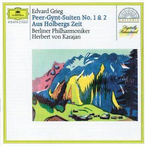 Grieg: Peer Gynt Suites Nos.1 & 2, From Holberg's Time, Sigurd Jorsalfar, Herbert von Karajan, Bp