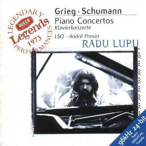 Grieg / Schumann: Piano Concertos, Radu Lupu, andre Previn, Lso