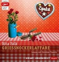 Grießnockerlaffäre, 1 MP3-CD, Rita Falk
