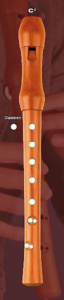 Griff-Fächer Blockflöte (Fächer) - Produktdetailbild 2