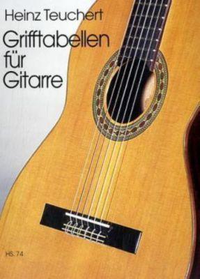 Grifftabellen für Gitarre, Heinz Teuchert