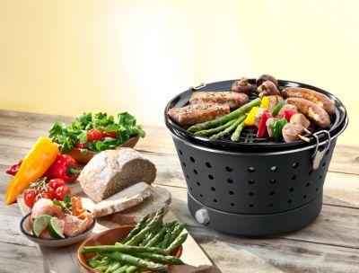 Rauchfreier Holzkohlegrill Vergleich : Grillerette classic rauchfreier holzkohlegrill schwarz