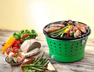 Rauchfreier Holzkohlegrill : Grillerette classic rauchfreier holzkohlegrill grün weltbild