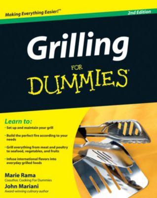 Grilling For Dummies, Marie Rama, John Mariani