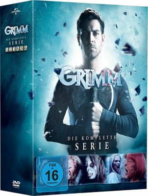 Grimm - Die komplette Serie, Silas Weir Mitchell,Bitsie... David Giuntoli