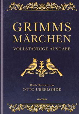 Grimms Märchen (Cabra-Lederausgabe), Jacob Grimm, Wilhelm Grimm