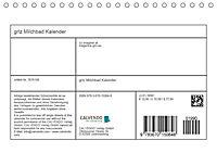grlz Milchbad KalenderAT-Version (Tischkalender 2019 DIN A5 quer) - Produktdetailbild 4