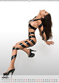 grlz Taped Sexy Girl (Wandkalender 2019 DIN A2 hoch) - Produktdetailbild 4