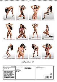 grlz Taped Sexy Girl (Wandkalender 2019 DIN A2 hoch) - Produktdetailbild 13