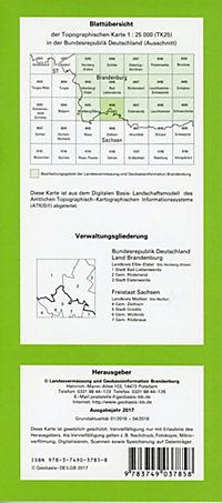 Gröditz 1 : 25 000 - Produktdetailbild 1