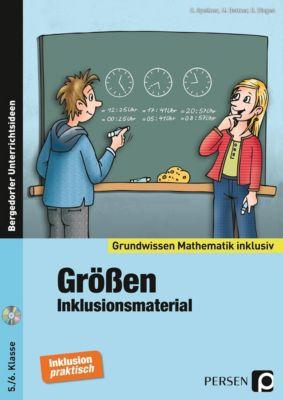 Größen - Inklusionsmaterial, m. CD-ROM, Cathrin Spellner, Marco Bettner, Erik Dinges
