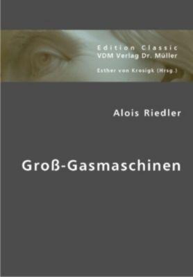 Groß-Gasmaschinen, Alois Riedler