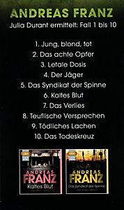 Große Andreas-Franz-Box, 10 MP3-CD - Produktdetailbild 1