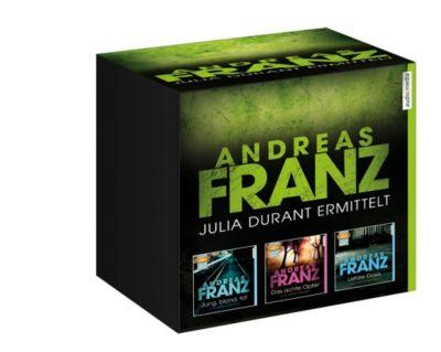 Große Andreas-Franz-Box, 10 MP3-CD, Andreas Franz