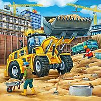 Grosse Baufahrzeuge Puzzle 3 x 49 Teile - Produktdetailbild 2