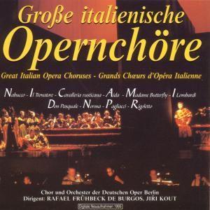 Grosse Italienische Opernchöre, Chor+odob