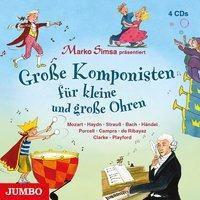 Große Komponisten für kleine und große Ohren, 4 Audio-CDs, Marko Simsa