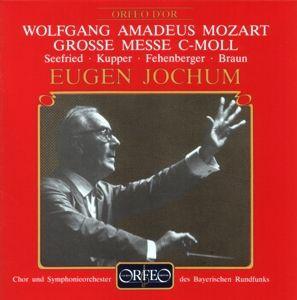 Grosse Messe C-Moll Kv 427, Seefried, Kupper, Fehenberger, Braun, Jochum, Sobr