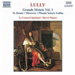 Grosse Motetten Vol.1, Niquet, Le Concert Spirituel