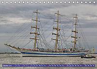 Großsegler auf der Weser (Tischkalender 2019 DIN A5 quer) - Produktdetailbild 11