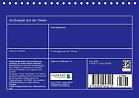 Großsegler auf der Weser (Tischkalender 2019 DIN A5 quer) - Produktdetailbild 12