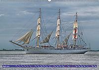 Großsegler auf der Weser (Wandkalender 2019 DIN A2 quer) - Produktdetailbild 4