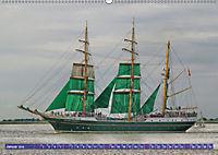 Großsegler auf der Weser (Wandkalender 2019 DIN A2 quer) - Produktdetailbild 1