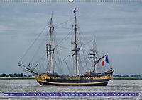 Großsegler auf der Weser (Wandkalender 2019 DIN A2 quer) - Produktdetailbild 3
