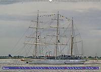 Großsegler auf der Weser (Wandkalender 2019 DIN A2 quer) - Produktdetailbild 5