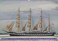 Großsegler auf der Weser (Wandkalender 2019 DIN A2 quer) - Produktdetailbild 9