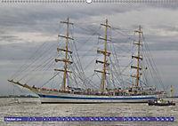 Großsegler auf der Weser (Wandkalender 2019 DIN A2 quer) - Produktdetailbild 10