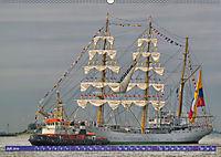 Großsegler auf der Weser (Wandkalender 2019 DIN A2 quer) - Produktdetailbild 7