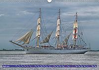 Grosssegler auf der Weser (Wandkalender 2019 DIN A3 quer) - Produktdetailbild 4