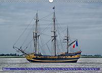 Grosssegler auf der Weser (Wandkalender 2019 DIN A3 quer) - Produktdetailbild 3