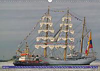 Großsegler auf der Weser (Wandkalender 2019 DIN A3 quer) - Produktdetailbild 7