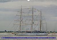 Grosssegler auf der Weser (Wandkalender 2019 DIN A3 quer) - Produktdetailbild 5