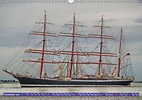 Grosssegler auf der Weser (Wandkalender 2019 DIN A3 quer) - Produktdetailbild 12