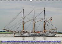 Großsegler auf der Weser (Wandkalender 2019 DIN A3 quer) - Produktdetailbild 8