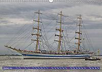 Grosssegler auf der Weser (Wandkalender 2019 DIN A3 quer) - Produktdetailbild 10