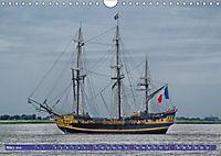 Großsegler auf der Weser (Wandkalender 2019 DIN A4 quer) - Produktdetailbild 6