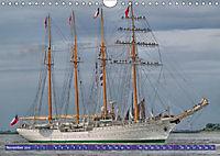 Großsegler auf der Weser (Wandkalender 2019 DIN A4 quer) - Produktdetailbild 7