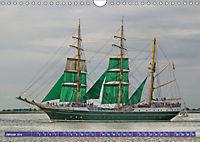 Großsegler auf der Weser (Wandkalender 2019 DIN A4 quer) - Produktdetailbild 8
